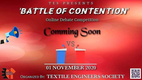 "TES Present debate ""Battle of Contention 1.0"""